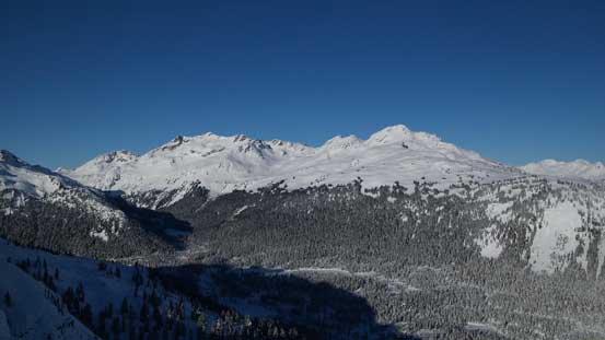 Mt. Callaghan and Hidden Peak