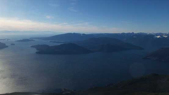 Unobstructed view of Howe Sound and the Sunshine Coast