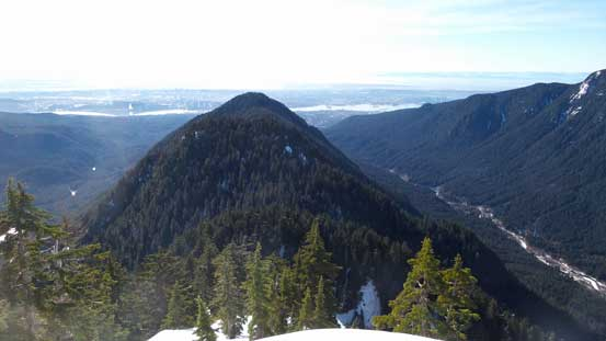 From South Needle, looking back at Lynn Ridge
