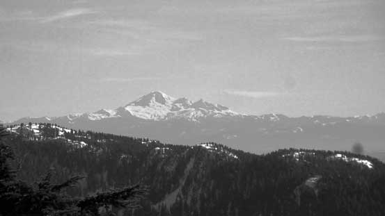 Mt. Baker on the horizon, from Middle Needle
