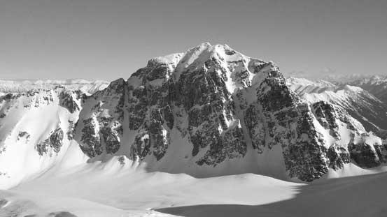The majestic Joffre Peak
