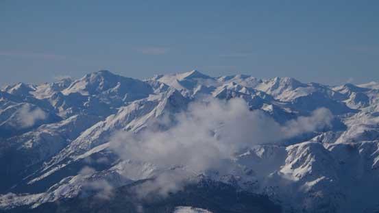 Mt. Sir Richard et al. by the remote McBride Traverse