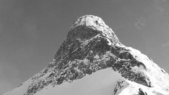 This is the south buttress of Mt. Matier which is very impressive