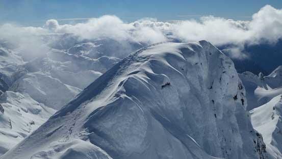 The false summit traverse