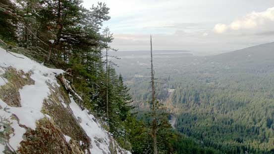 The lower Seymour valley and the Lower Mainland